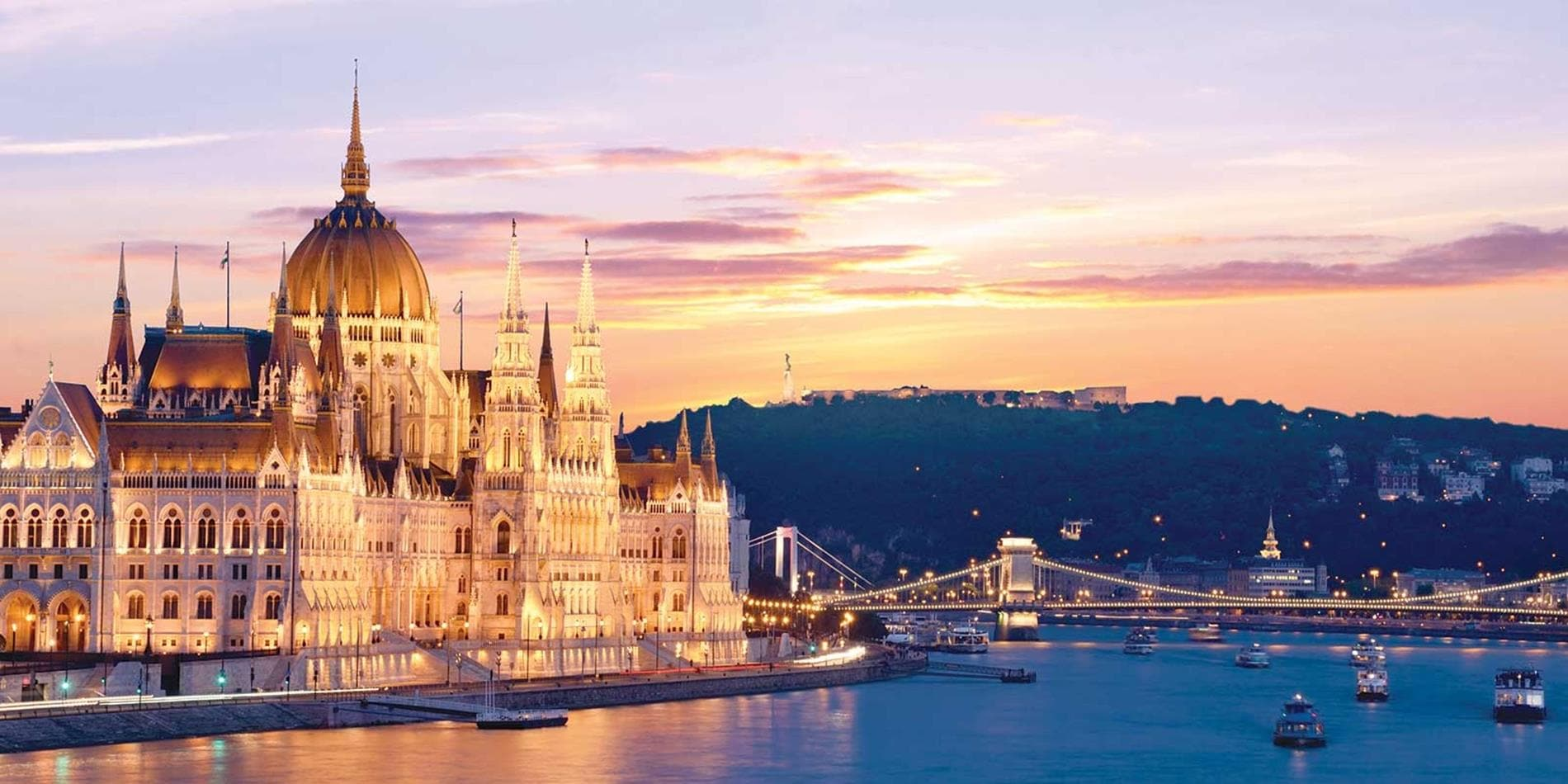 15 Day Magnificent Europe River Cruise, Amsterdam to Budapest